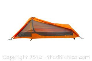 WINTERIAL SINGLE PERSON TENT - ORANGE (J19)