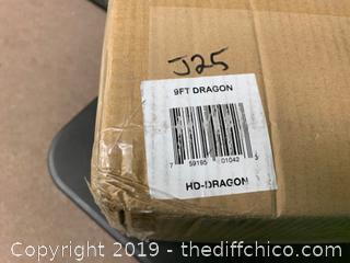 Holidayana 9ft Inflatable Halloween Dragon (J25)