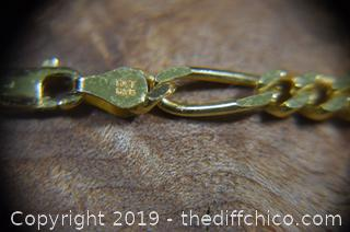 Sterling Silver 925 Gold Plated