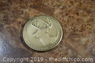 NRA Collectible Token - Whitetail Deer