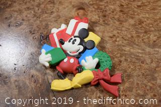 Mickey Mouse Brooch