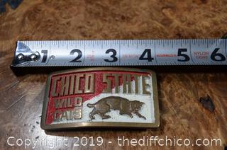 Chico State Wild Cats Belt Buckle