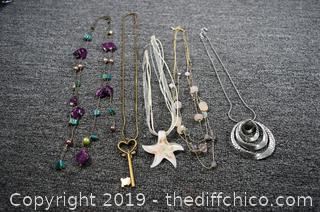 5 Costume Jewelry Necklaces
