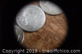 10 Roosevelt Dimes 90% Silver