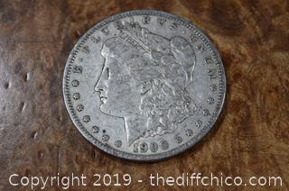 1900 O Morgan Dollar 90% Silver