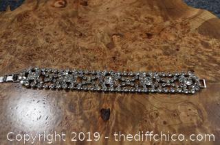 Unique Rhinestone Bracelet