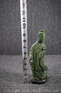 Oriental Jade Statue