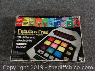 Fabulous Fred Game set