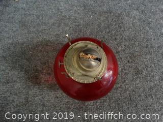 Oil Lamp Bottom