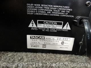 TASCAM CC-222 WKS