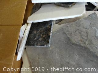 Box Of Granite & Marble