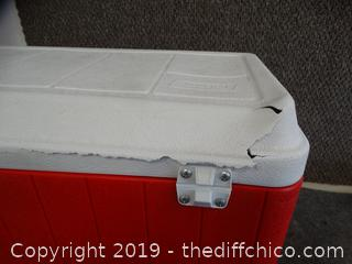 Coleman Ice Chest See pics
