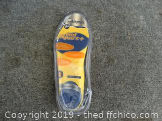 New Air Plus Gel Sport Insoles 7-13