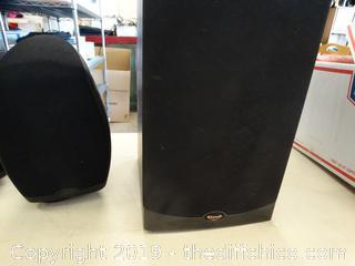 4 Klipsch Speakers