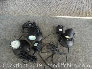 3 Security Lights