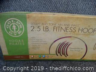 NIB Gold Gym 2.5 Fitness Hoop
