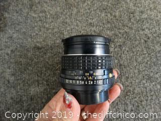 Asahi  Camera Lens