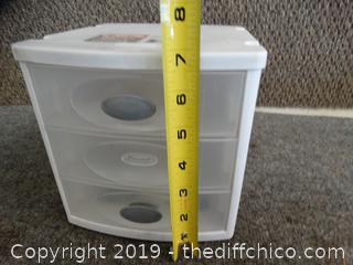Sterilite Organizer 3 drawer