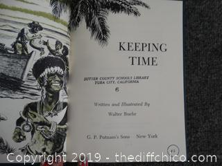 Keeping Time Book From 1960