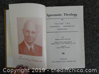 1953 Systematic Theology Book