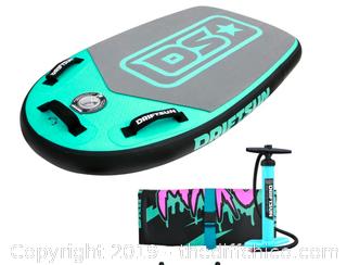 "Driftsun Mako Inflatable Bodyboard with RigidAir Drop Stitch Tech, 42"" L x 25"" W BLUE (J6)"