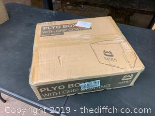 Ultra Fitness Gear 3 in 1 Anti-Slip Wood Plyo Box for Jump, Crossfit, Plyometrics SMALL (J8)