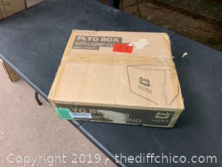 Ultra Fitness Gear 3 in 1 Anti-Slip Wood Plyo Box for Jump, Crossfit, Plyometrics SMALL (J9)