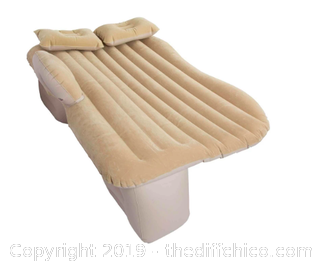 WINTERIAL BACKSEAT INFLATABLE CAR MATTRESS TAN (J14)