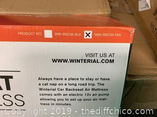 WINTERIAL BACKSEAT INFLATABLE CAR MATTRESS TAN (J14)