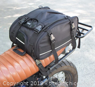 Vuz Moto Expandable Tail Bag (J21)