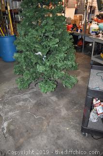 9ft tall Christmas Tree
