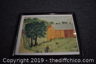 Framed Signed Prints