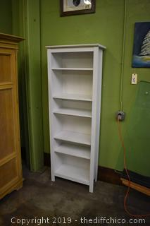 Bookcase w/Adjustable Shelves