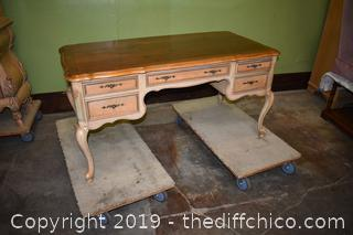 Desk with 5 Drawers