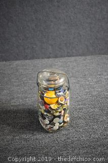 Jar Full of Buttons