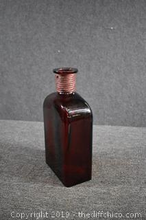 Large Glass Bottle