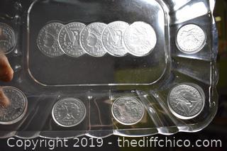 Coin Glass Dish