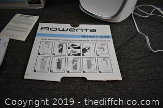 Working Rowenta Air Purifer