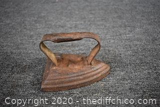 Cast Iron Clothes  Iron