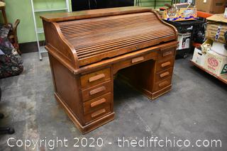 3 Piece Roll Top Desk