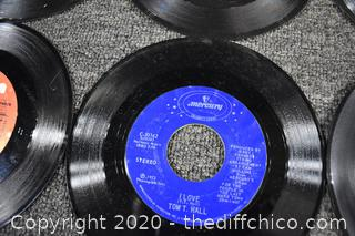 21 - 45rpm Records