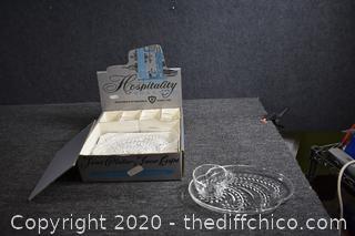 Vintage Snack Set in Box
