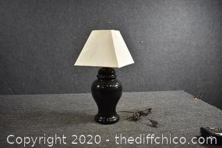 Working Pair of Lamp w/Shade
