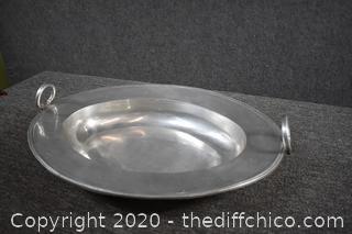 Aluminum Bowl w/Handles