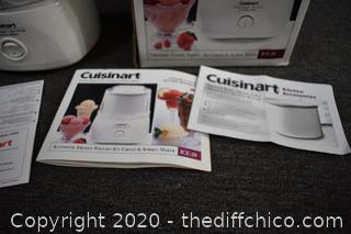 Cuisinart Working Ice Cream Maker