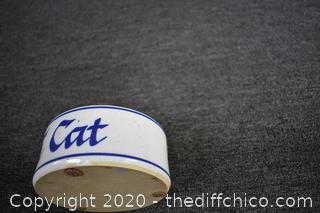 Attack Cat Bowl