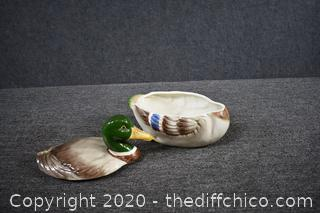 Duck Bowl w/Lid