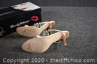 Beverly Feldman Aloha My Diva  Heels - Size 6.5