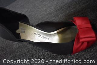 Red Bow Heels Size 7