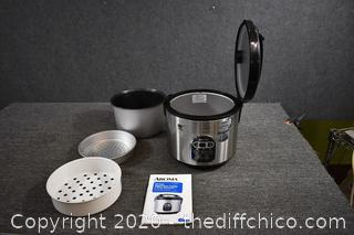 Working Aroma Rice Cooker and Food Steamer